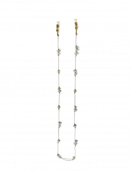 Brillenketten ZA Cordino II col. grau VE / 1-Stück
