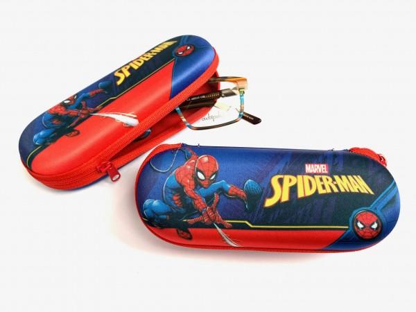 SPIDER-MAN dunkelblau - Kinder-Brillenetui Motiv-1