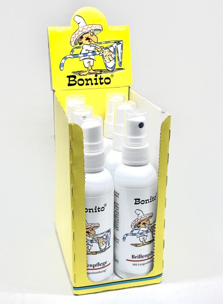 Bonito - Brillenspray 6x100 ml im Display