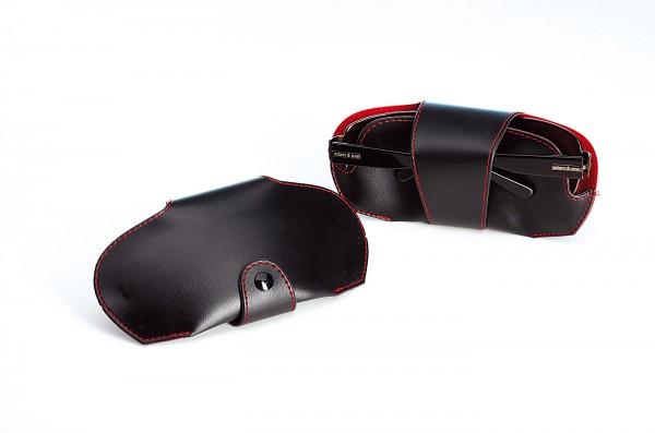 Autoetui JS-Car, schwarz-rot