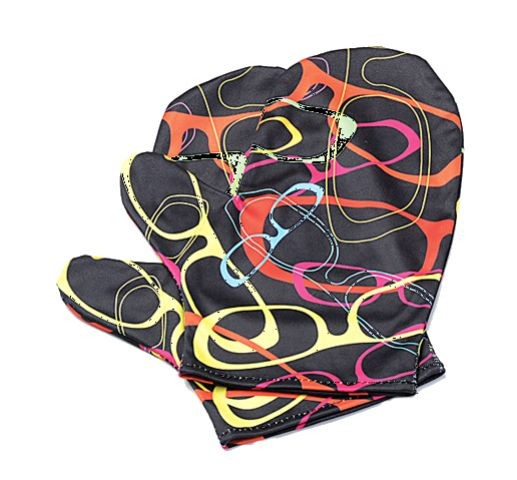 Microfaserhandschuhe, 1 Paar, farbl. sort.