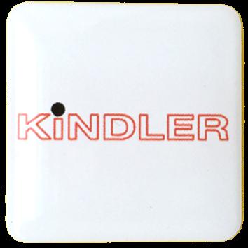 3D-Aufkleber PK3030 quadratisch 30x30mm incl. Druck