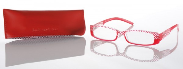 3849 Fertiglesebrille Col. red