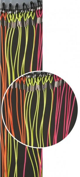 Brillenkordeln elastisch 4003 neon-bunt 1VE 12 Stück