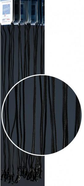 Brillenkordel FJO Nylon schwarz VE / 12 Stück