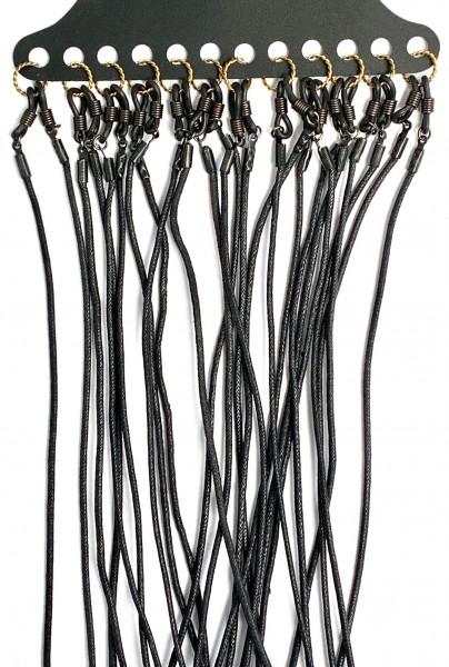 Brillenkordel 9130 schwarz VE 12 Stück