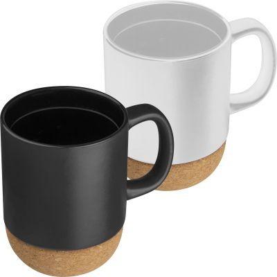 Große Kaffeetasse 350ml mit Kork Basis