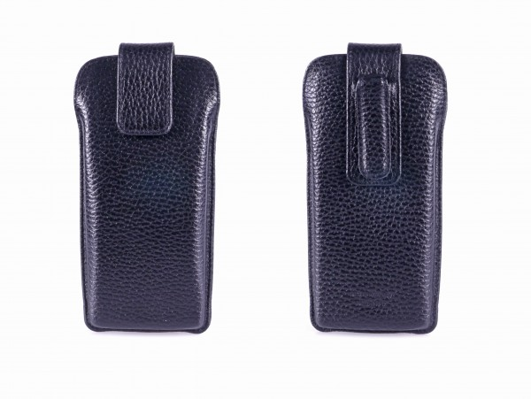 Stecketui 2210 - 85 Leder, schwarz, groß