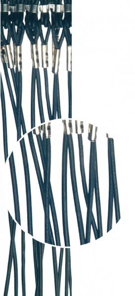 Brillenkordeln Leder schwarz VE / 12 Stück