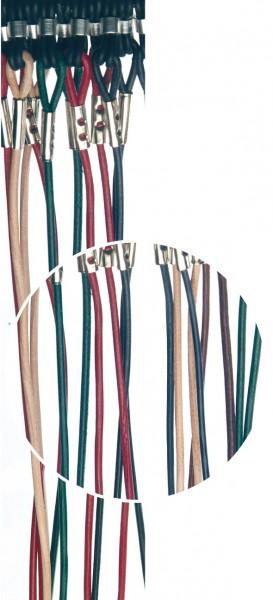 Brillenkordeln Leder bunt VE / 12 Stück