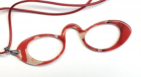 Modell R00003 Lesehilfe col. 01 orange/rot