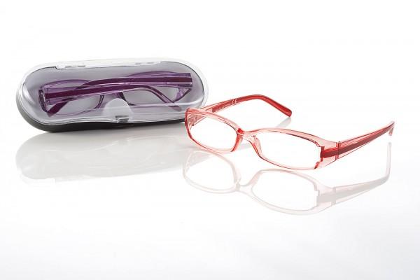 Fertigbrille RP 2304 col.1 rot Stärke sort.