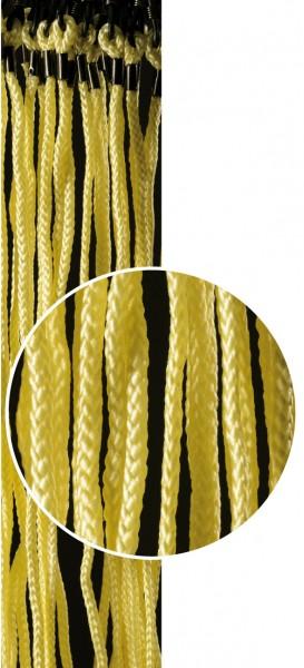 Brillenkordeln Baumwolle gelb VE / 12 Stück