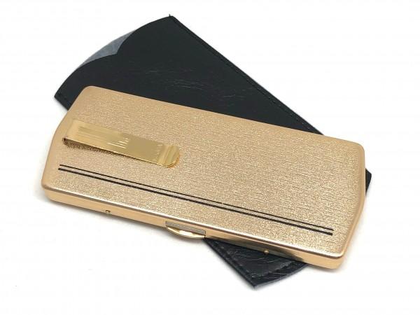 Modell Kanada Faltbrilleetui KND col. gold