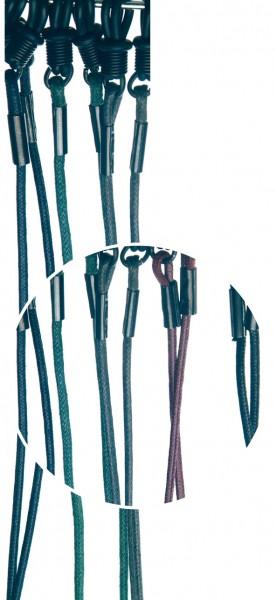 Brillenkordel FJO gewachst bunt VE / 12 Stück