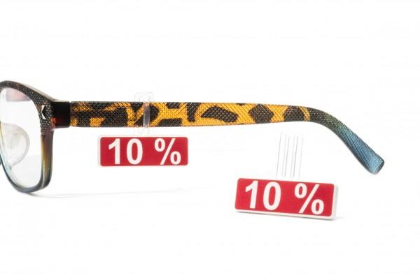 Preisauszeichnungsschild 11 x 33 mm 10%