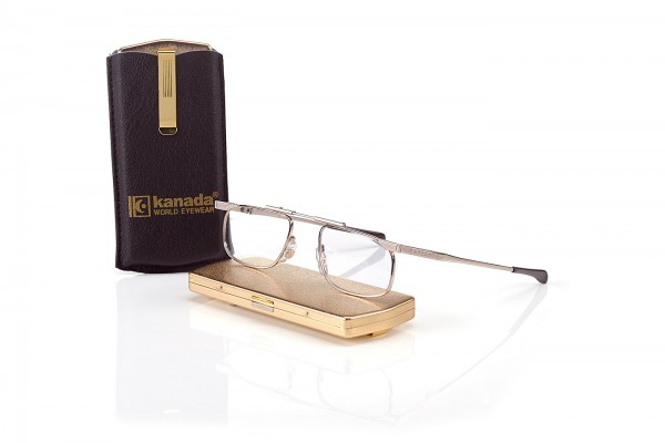Modell Kanada Faltbrille KND-01 gr. col. gold