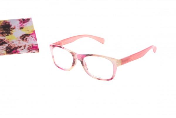 Fertiglesebrille Modell 6198 col. 04 pink