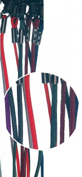 Brillenkordel FJO Nylon bunt VE / 12 Stück