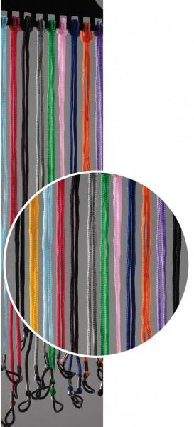 Brillenkordel Baumwolle bunt VE / 12 Stück
