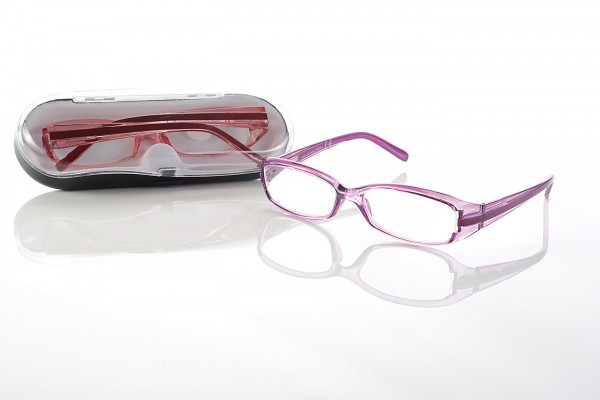 Fertigbrille RP 2304 col.2 lila Stärke sort.
